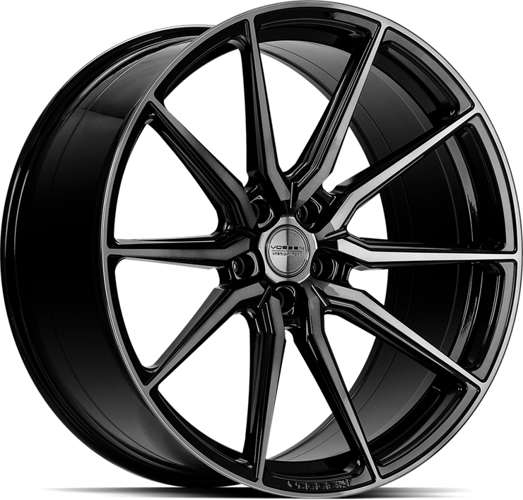 vossen hf3 double tinted bloss black web